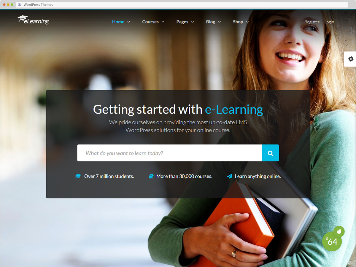 eLearning WP WordPress Theme