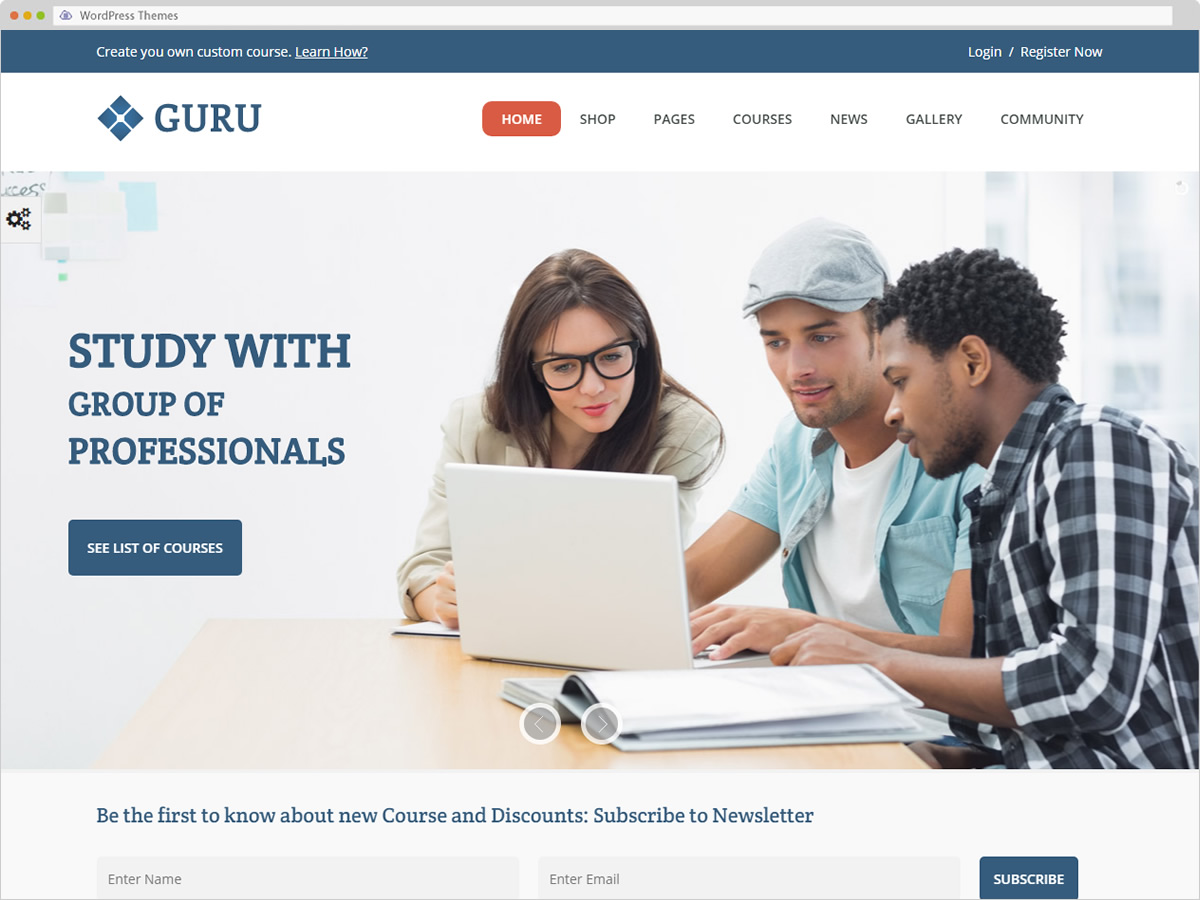 Guru WordPress Theme