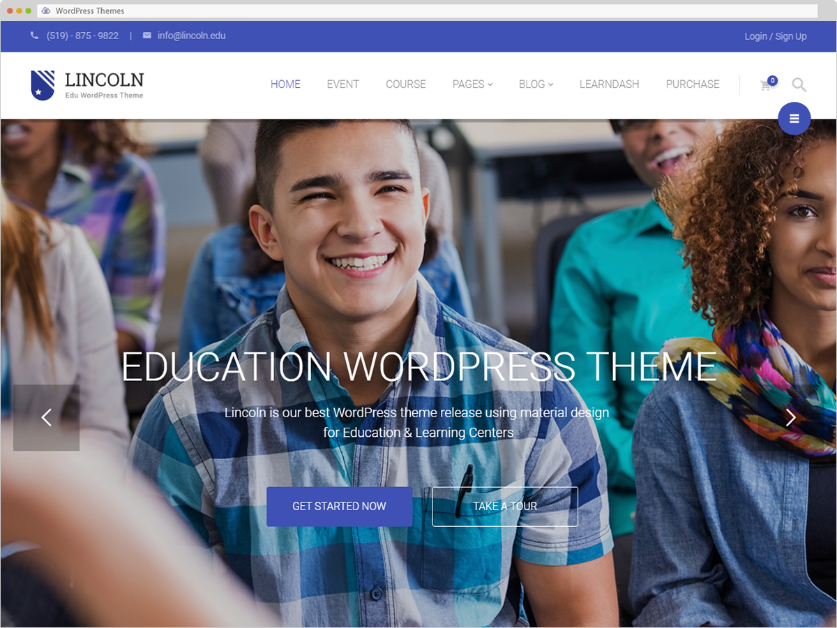 Lincoln WordPress Theme