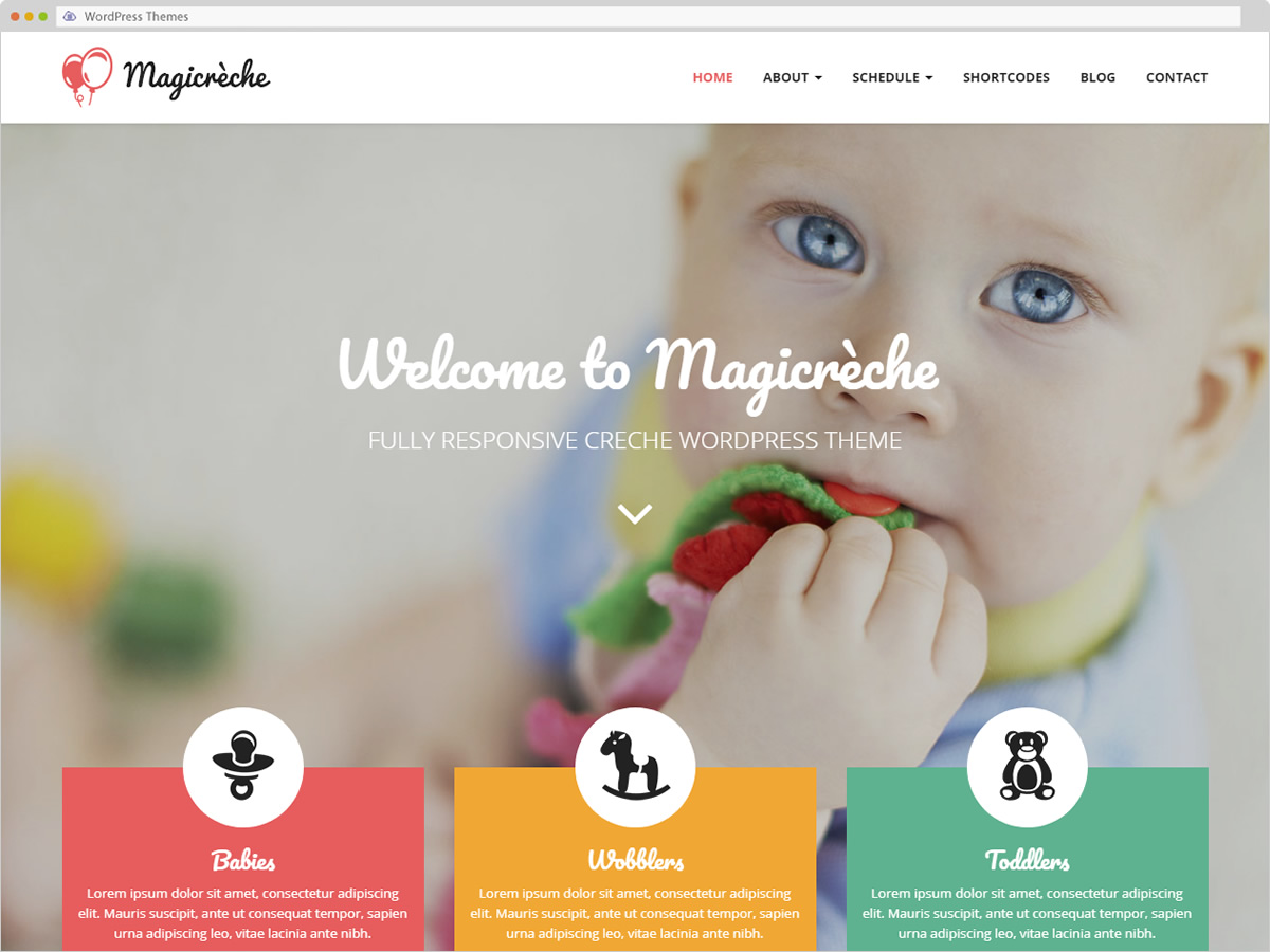 Magicreche WordPress Theme