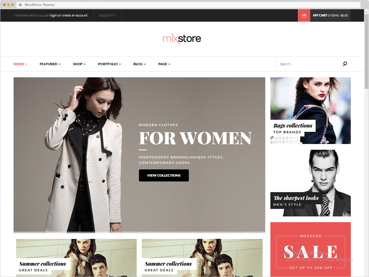 Mixstore WordPress Theme