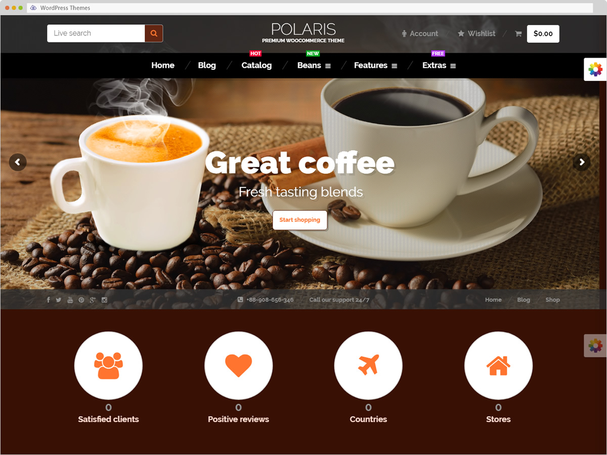 Polaris WordPress Theme