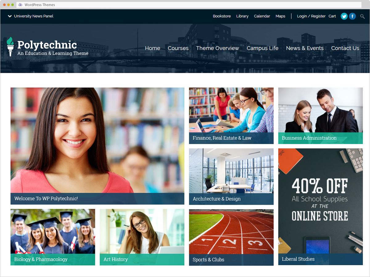 Polytechinc WordPress Theme