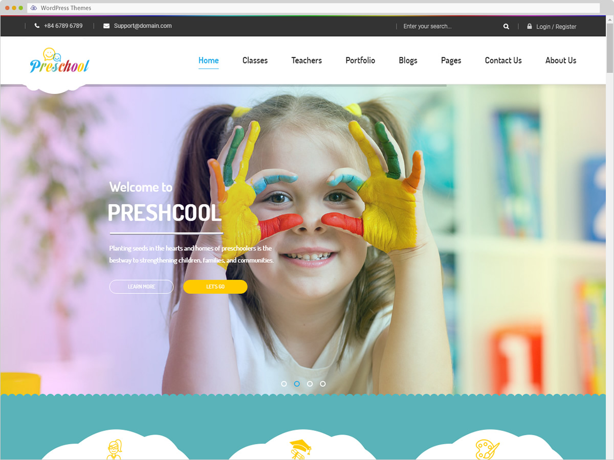 Preschool WordPress Theme