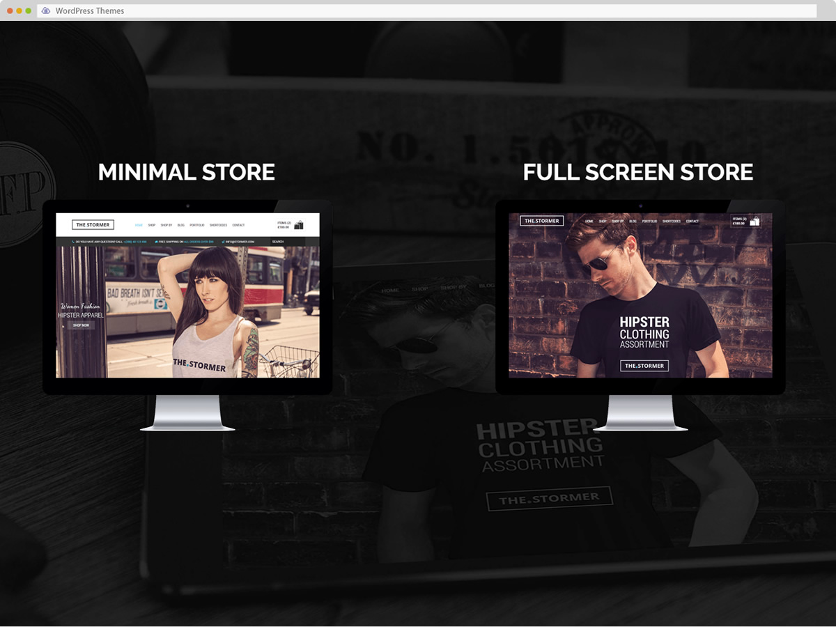 The Stormer WordPress Theme