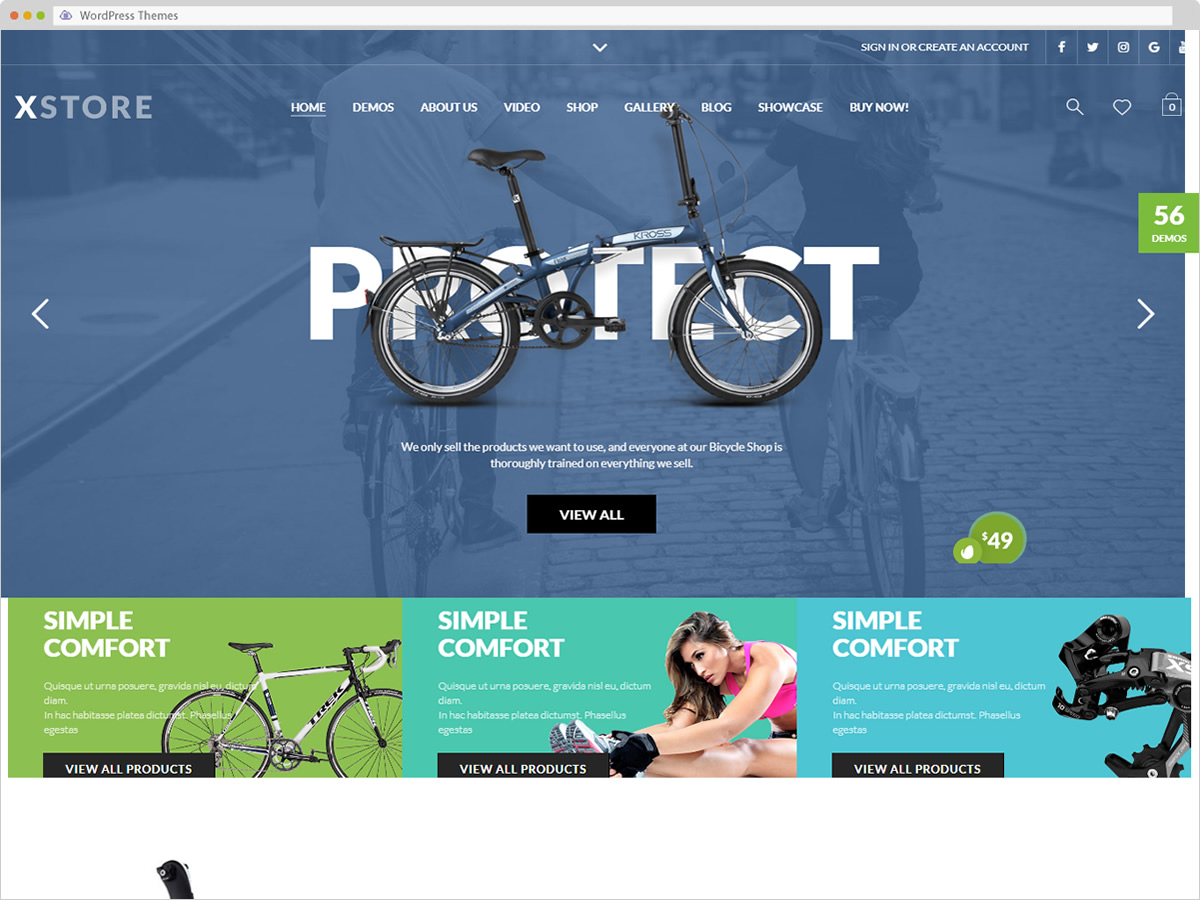 XStore WordPress Theme