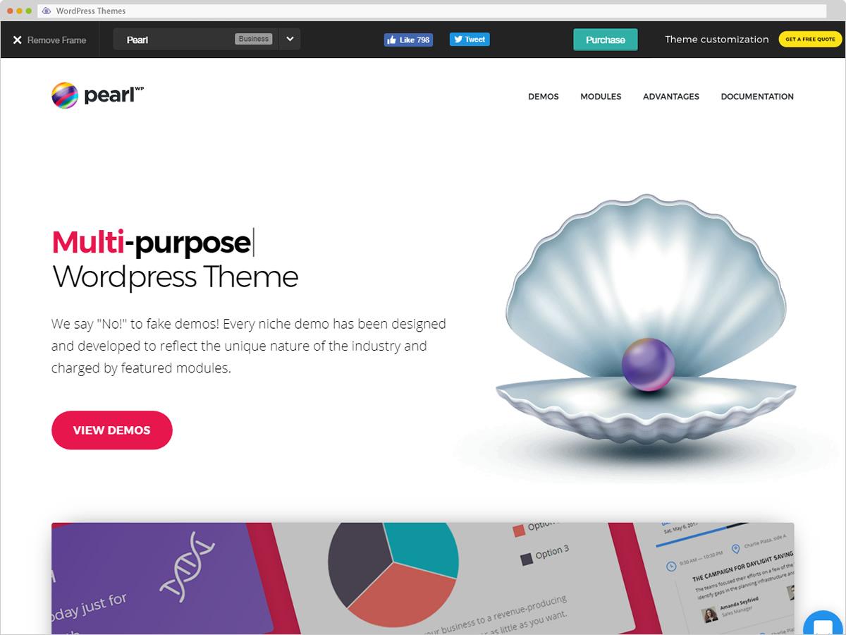 Pearl WP WordPress Theme